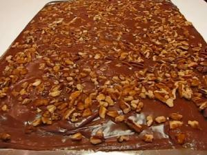 Betty's Texas Sheet Cake--Chocolate!