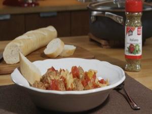 Italian-‐Style Meatball Stew