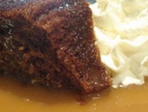 Homemade Sticky Date Pudding