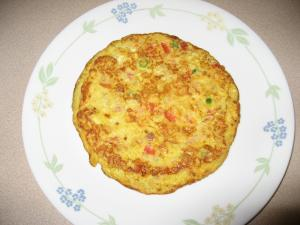 Simple Veggie Omelette