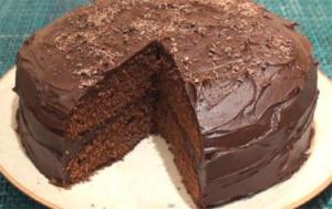 Chocolate Fudge Cake With Buttermilk