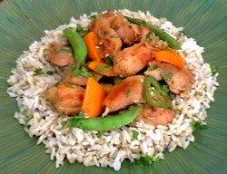 Low Calorie Spicy Orange Chicken
