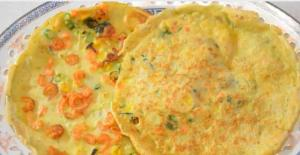 Chinese Fried Thin Pancake
