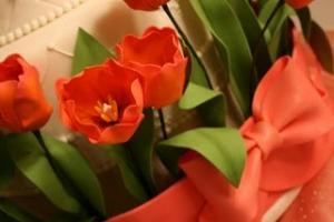 Sugar Paste Tulips