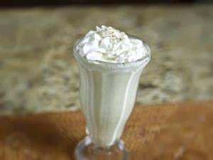 Jack in the Box Egg Nog Shake