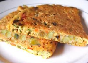 Corn Omelette