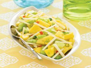 Wegmans Pineapple, Jicama & Cucumber Salad