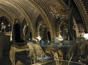 Skeleton Bar By Hans Rudi Giger