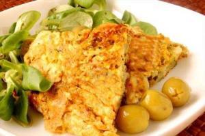 Sweet Corn Omelette