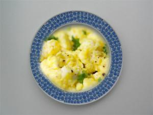 Crab And Egg Scramble