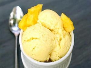 Keri Nu Icecream ( Mango Ice Cream )