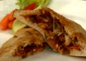 Mushroom And Vegetable Stuffed Pizza Pockets