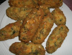 Baked Soybean Croquettes