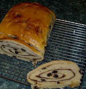 Swirl Breakfast Loaf