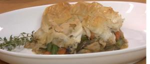 Phyllo-Topped Chicken Pot Pie