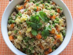 Fried Rice With Vegetable Rice Mix