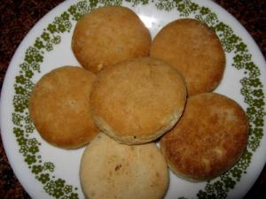 Molasses Whole Wheat Cookies