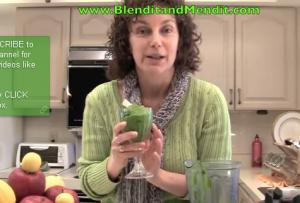 Mango and Spinach Vegan Anti Aging Pudding
