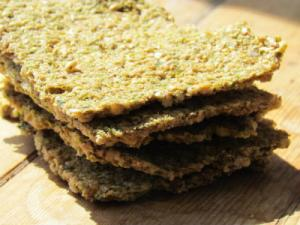 Raw Sunflower Seed and Flax Meal Bread
