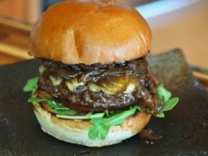 Four Roses Bourbon Burger