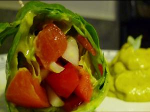 Mango Mayonnaise Wrap