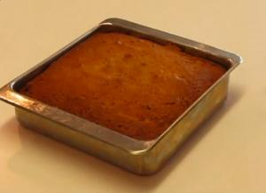 Low-Calorie Applesauce Spice Cake
