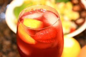 Fruit Punch With Brandy