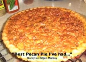 Pecan Pie With Bourbon