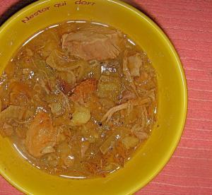 Apple Cider Stew