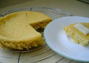 Solar Cooked Cornbread