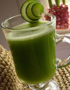 Velvety Cucumber Juice