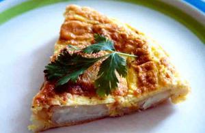 Puffy Spanish Omelette