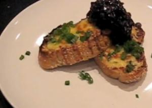 Marmite Cheesy Toast with Red Onion Marmalade