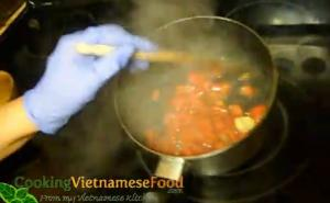Vietnamese Sriracha Sauce - Part 3 - Cooking