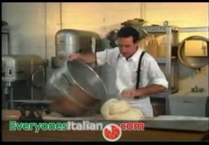 Italian Bread Baking - Check and Cut