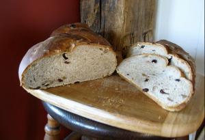 Braided Fruit Bread