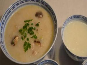 Porridge, Chicken Congee, 白粥, 雞粥