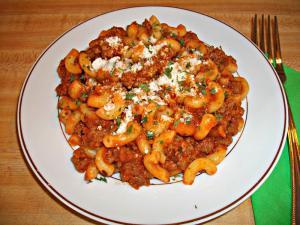 Easy Chili Beef Pasta