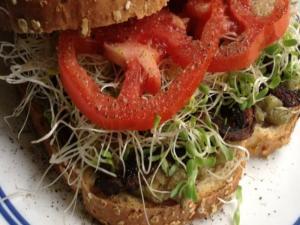 Portabella Mushroom Bacon