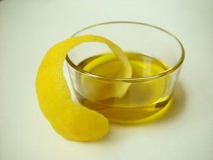 lemon rind oil