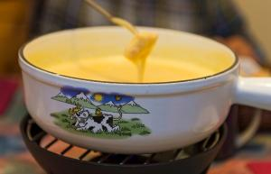 Swiss Fondue In The Microwave