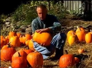 Virginia Farm Bureau - In the Garden - Picking a Pumpkin