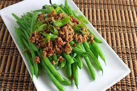 Green Beans Dressing -- Green Beans Salad