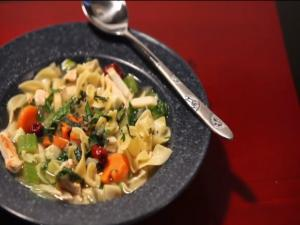 Cathlyn's Korean Kitchen Episode 4: Chicken Gingseng Noodle Soup