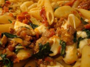Rigatoni With Artichokes, Garlic, And Olives Recipes — Dishmaps
