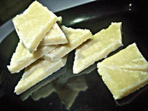 Homemade Yummy Kaju Katli