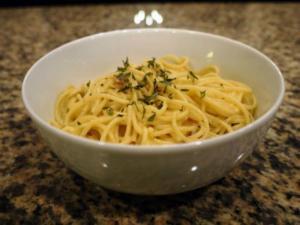Guilt Free Spaghetti alla Carbonara
