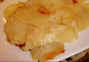 Baked Idaho Scalloped Potatoes