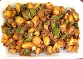 Capsicum Potato Fry