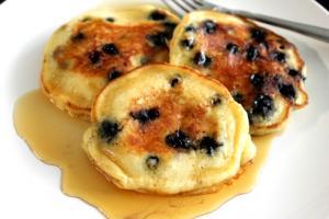 Almond and Walnut Pancakes